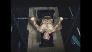 Man performing barbell bench press thumbnail