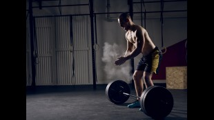 Man Deadlifting Weighted Barbell thumbnail