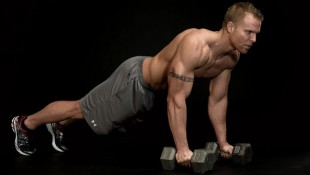 Dumbbell Burpee Clean and Press thumbnail