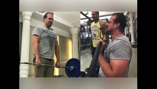 David Harbour's 'Hellboy' Workout Program Preview thumbnail