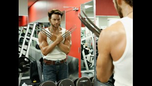 Hugh Jackman Wolverine at Gym thumbnail