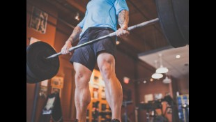 Man deadlifting barbell thumbnail