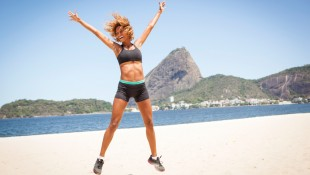 Jumping Jacks on the Beach thumbnail