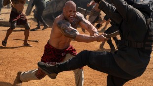 The Rock filming 'Hobbs & Shaw.' thumbnail