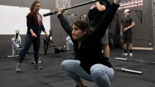Camille Leblanc-Bazinet Trains Red Bull Crashed Ice Athletes thumbnail