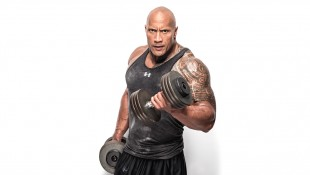 Dwayne Johnson Dumbbell Curl thumbnail