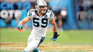 Luke Keuchly NFL's Carolina Panthers thumbnail