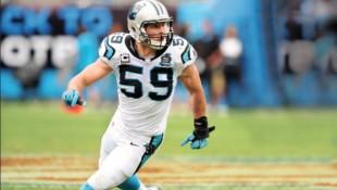 Luke Keuchly NFL's Carolina Panthers thumbnail