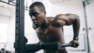 Man Doing Bodyweight Dip thumbnail