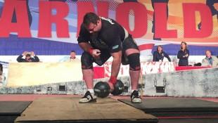 Strongman Mike Burke Has Crazy Grip Strength thumbnail
