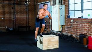 Single-leg box squat thumbnail