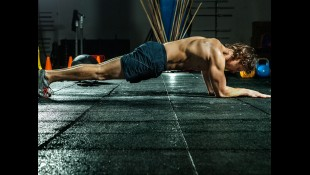 Fit man doing plank thumbnail