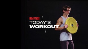 Today's Workout With Mike Simone: The Plate-Weighted Circuit For Total-Body Mass thumbnail