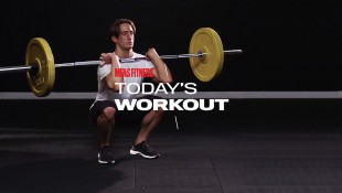 Today's Workout With Mike Simone: The Barbell Squat Circuit To Increase Lower-Body Mass thumbnail