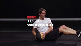 Today's Workout With Mike Simone: The Medicine Ball Circuit To Crush Your Core And Quads thumbnail