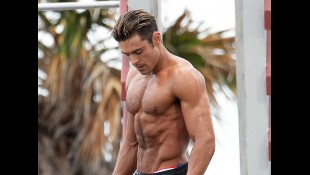 Zac Efron Shoots On Location In Miami Beach, Florida For 'Baywatch' thumbnail
