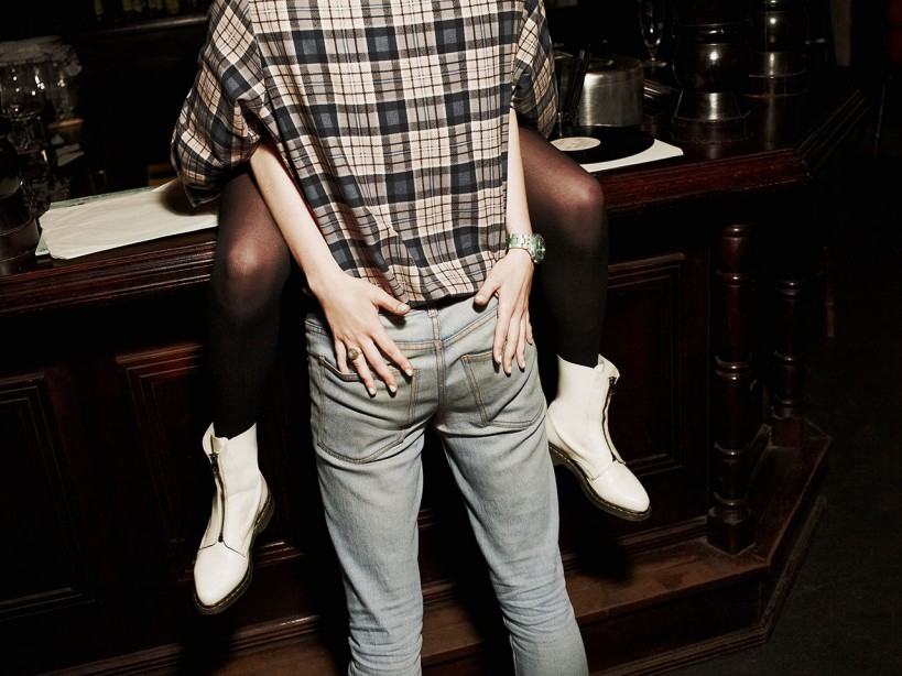 Tight Jeans Cant Keep This Cock Out Of Her