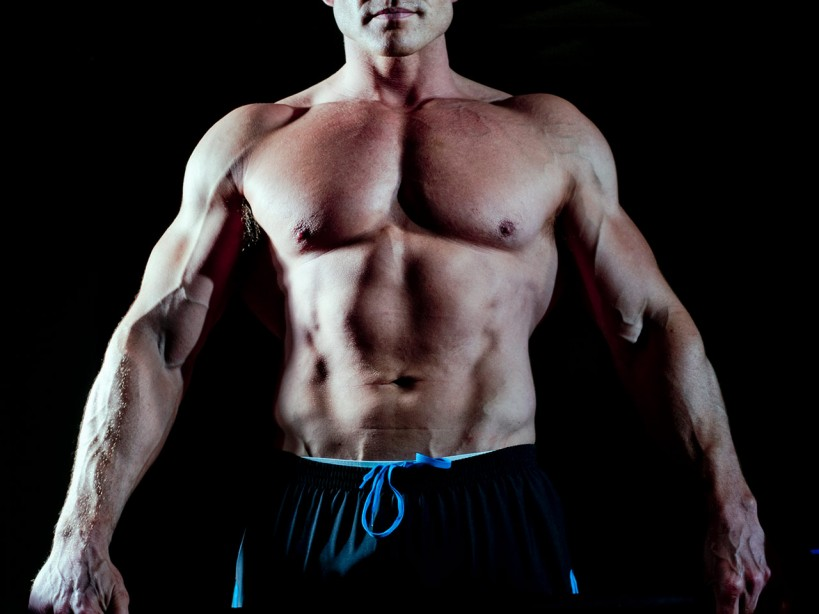 Man With Muscular Chest