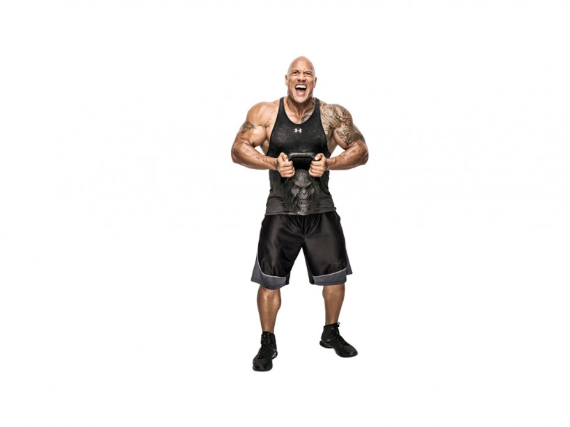 Dwayne Johnson Kettlebell
