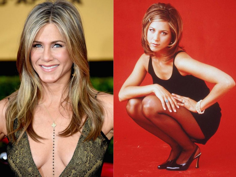 Right! good jennifer aniston naked tube with