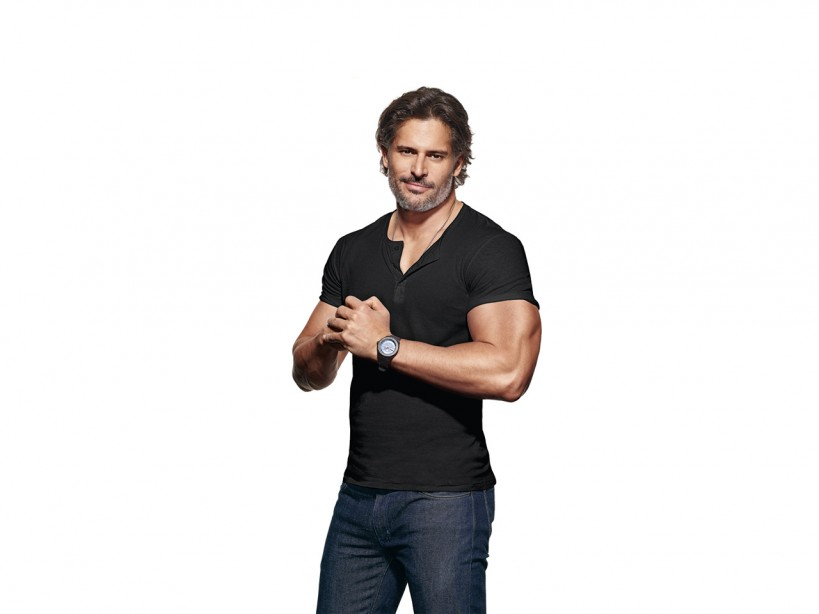 Joe Manganiello's upper-body workout routine