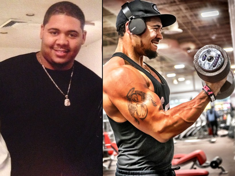 Transformation Tuesday The 130 Pound Weight Loss Plan Muscle