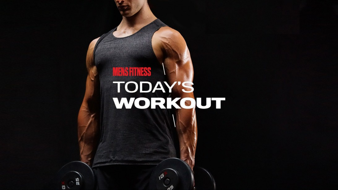 Today's Workout 8: The floor circuit to blast your upper body