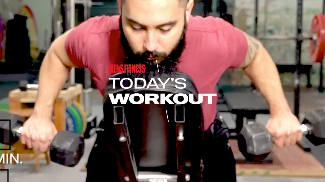The Classic Iron Workout Program: Forge lasting total-body muscle on day 6