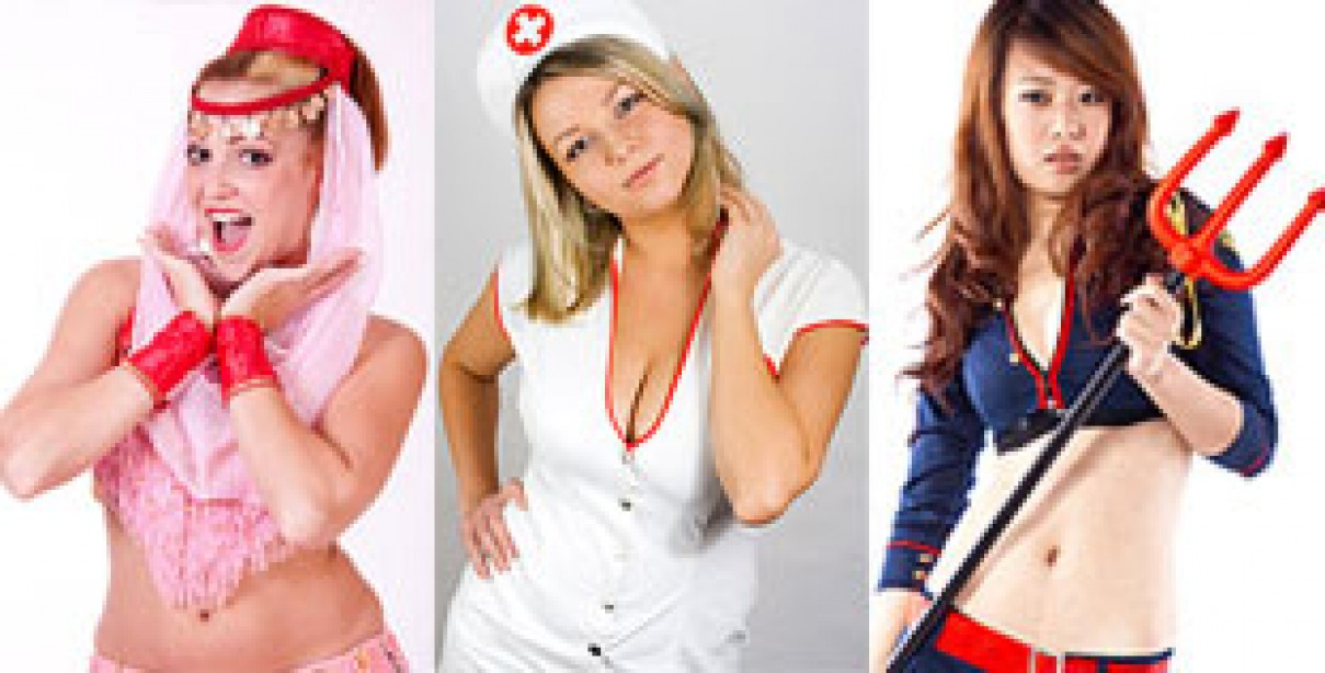 A Tribute to Sexy Halloween Costumes