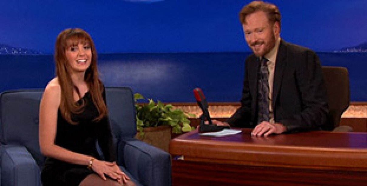 Video: Roberta Mancino on Conan
