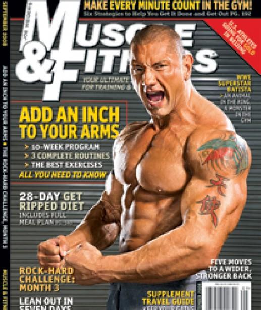 Batista Animal Instinct Muscle Fitness