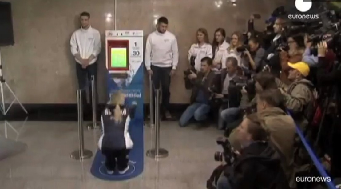 Moscow Train Station Exchanges Subway Ticket for 30 Squats