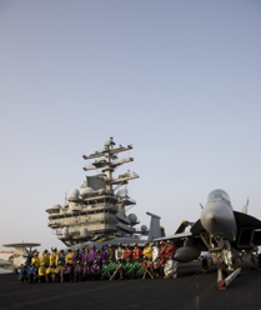 MILITARY MUSCLE: M&F GOES TO SEA WITH THE U.S. NAVY