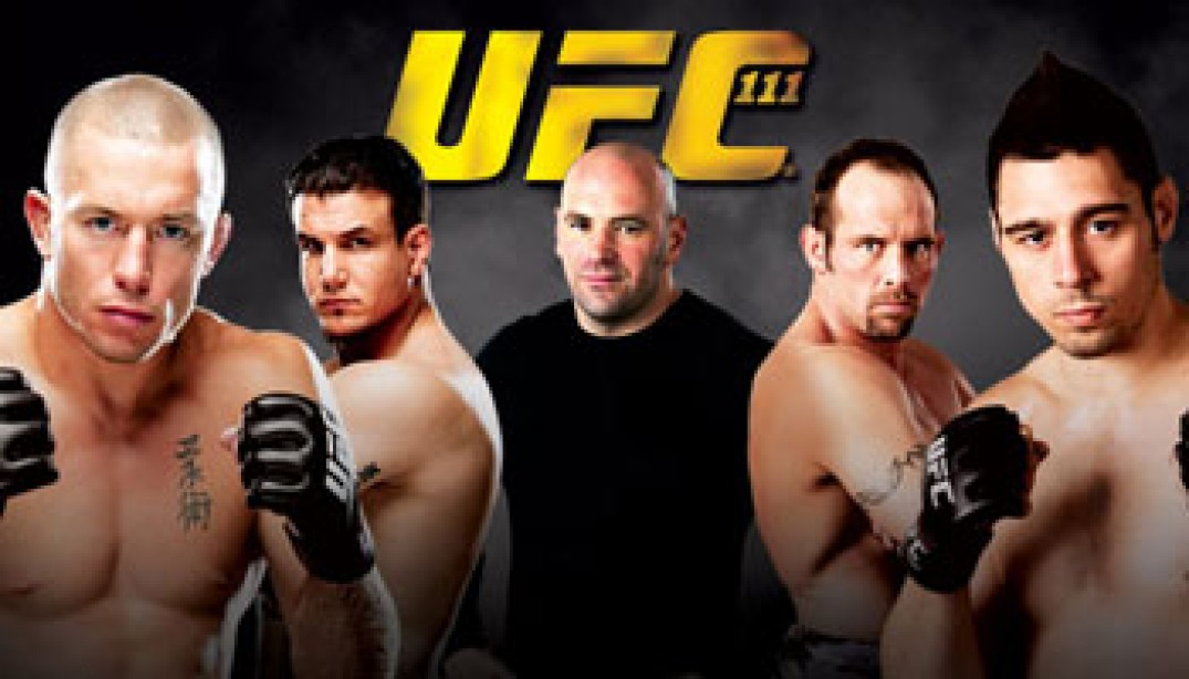 UFC 111: St-Pierre vs. Hardy