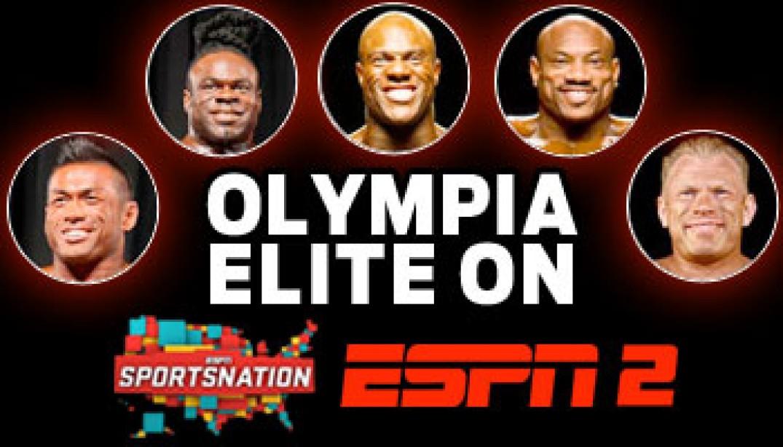 OLYMPIA ELITE ON ESPN2