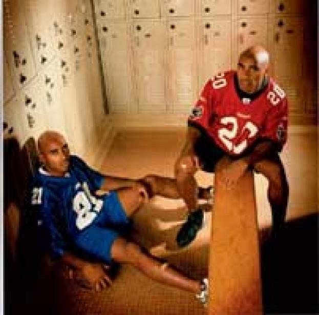 Hard-Hitting NFL Twins, Ronde and Tiki Barber