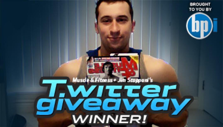 Twitter Contest Winner