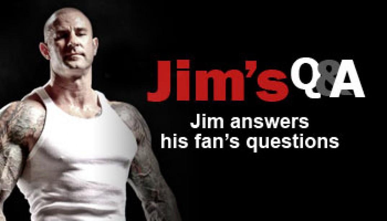Jim Stoppani's Q&A