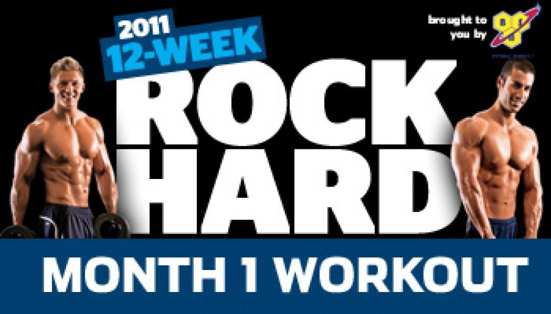 Rock Hard Challenge Month 1