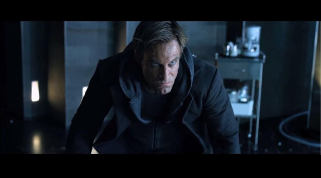 Aaron Eckhart Stars in I, Frankenstein