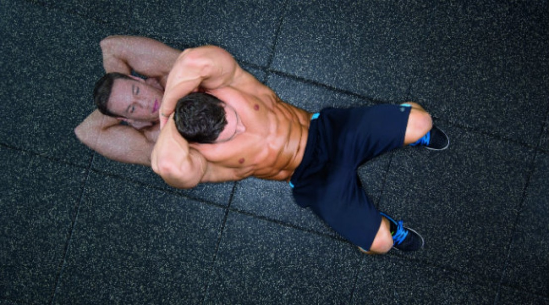 Cross Your Back for Shredded Abs
