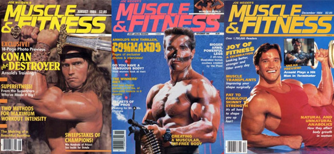 Which is your favorite Arnold Schwarzenegger Muscle & Fitness cover?
