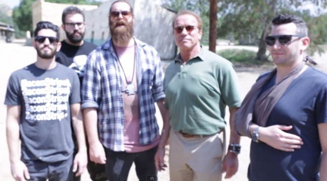 Arnold Team Up With Epic Meal Time Again