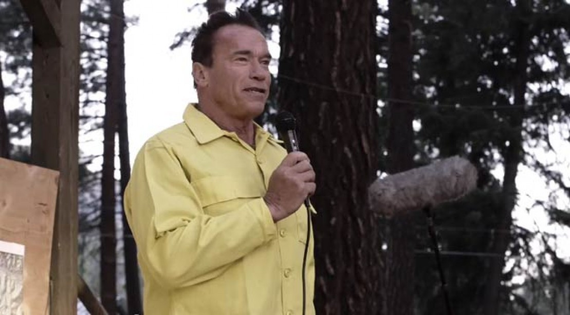 Eco-Warrior Arnold Fights for Our Future
