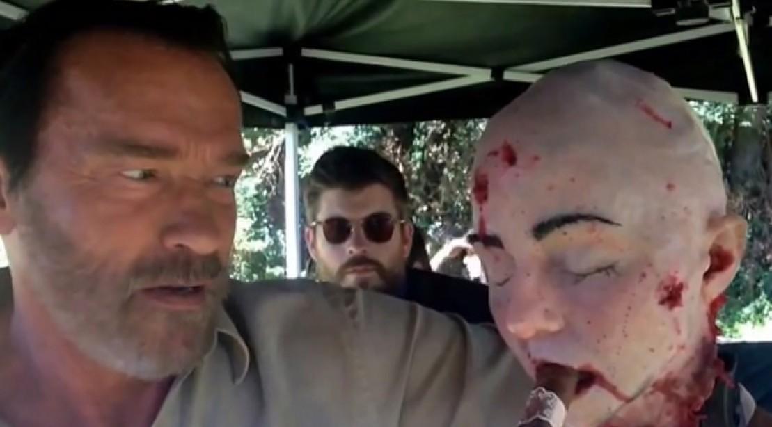Arnold Schwarzenegger Performs His Best Movie Quotes Part 2