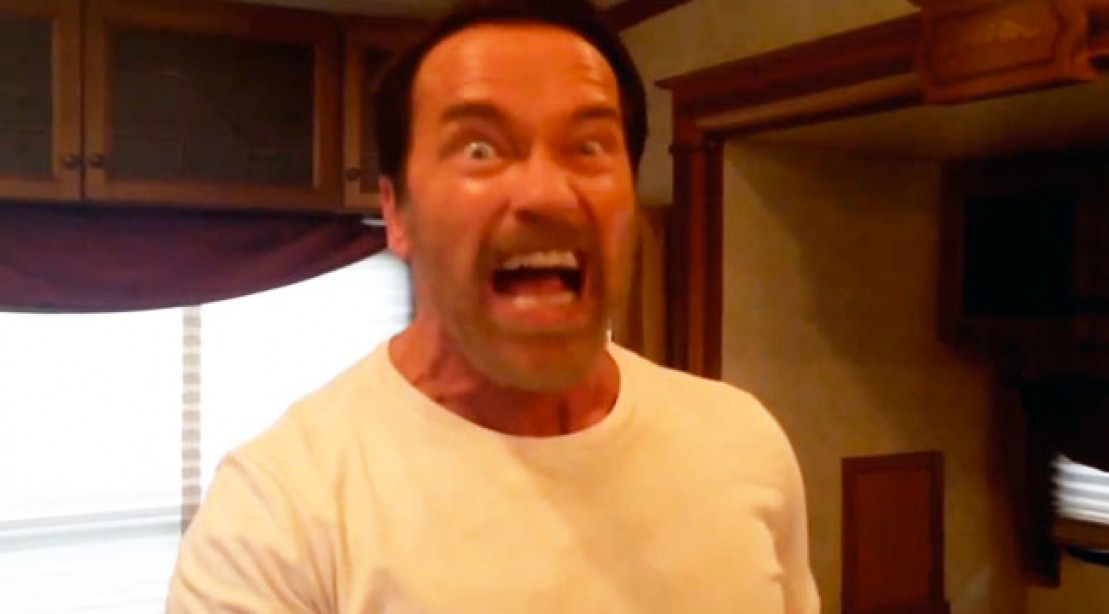 Arnold Schwarzenegger Performs His Best Movie Quotes