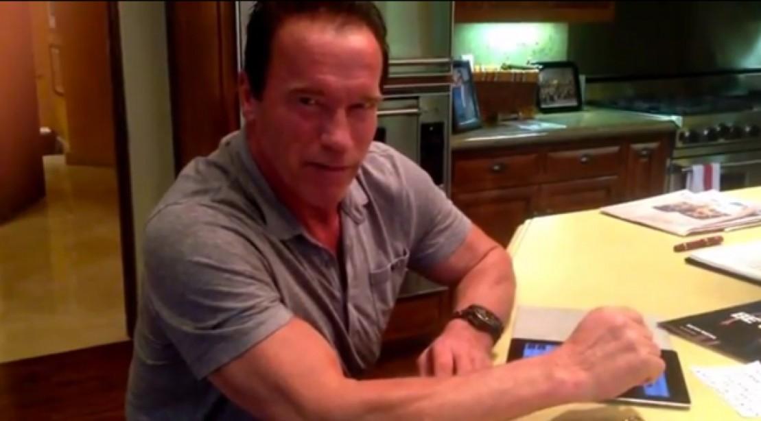 Arnold Schwarzenegger Opens Up in Reddit AMA Session