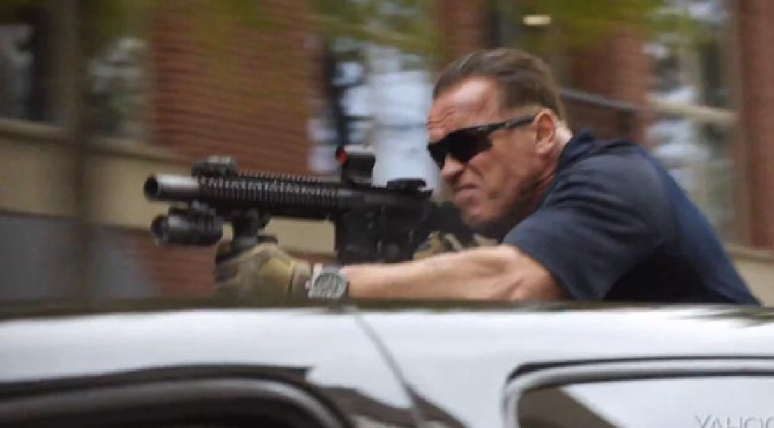 Arnold Schwarzenegger is Back in 'Sabotage'