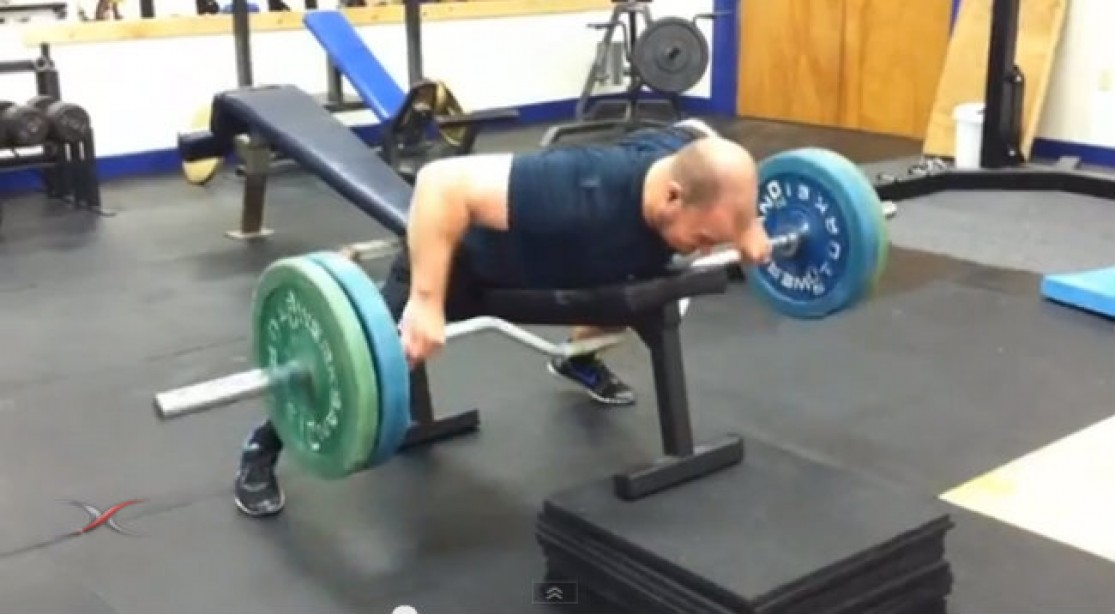 Big Back Training: Prone Supported Rows