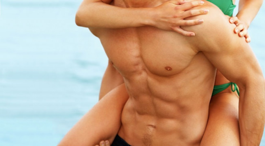 What body part do you want to get ripped?